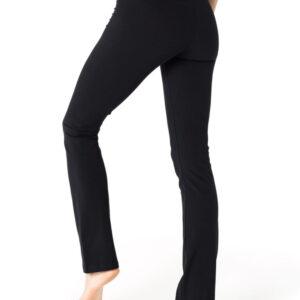 Full Length Organic Cotton Stretch Yoga Pants