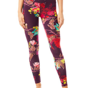 Supersoft Tencel Leggings (Flaming Flower)