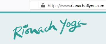 Rionach Yoga Secure Site